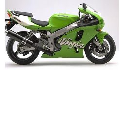 Kawasaki ZX7-R Bremsbel/äge Vorne und Hinten 96-03